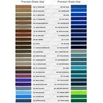 Single-Color Color Charts