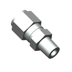 "1/4"" x 1/8"" Male NPT, SS, Tube Fitting"