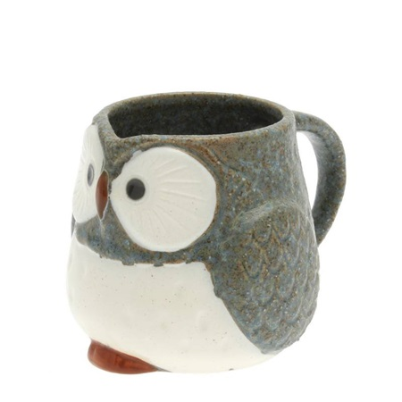 Mug Owl Blue 11 oz.
