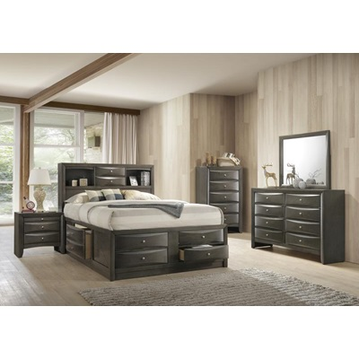 22696EK IRELAND GRAY EASTERN KING BED