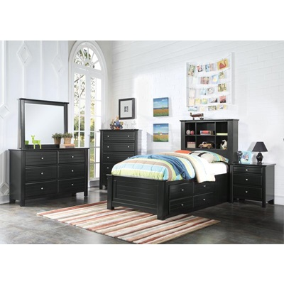 30385F MALLOWSEA FULL STORAGE BED