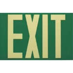 Safe-T-Lume Photoluminescent Low Level Exit Sign