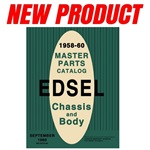 Edsel Master Parts List (Reprint)