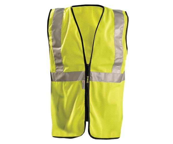 High Visibility Premium Mesh Standard Safety Vest