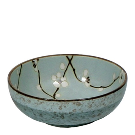 "Spring Blossoms 6"" Shallow Bowl"