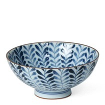 "Shidae Ferns 4.5"" Rice Bowl"