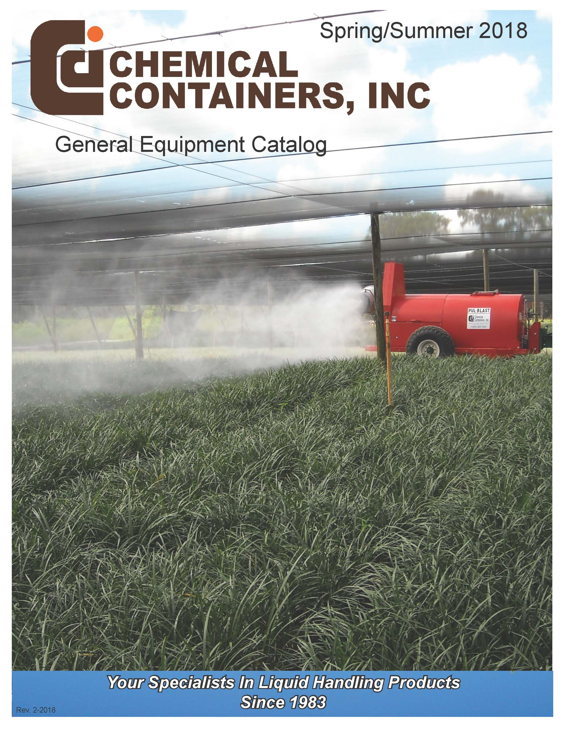 Chemical Containers 2018 Products Catalog
