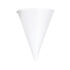 Water Cups, Paper 4.25oz Cone