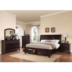 24610Q GRAYSON QUEEN BED