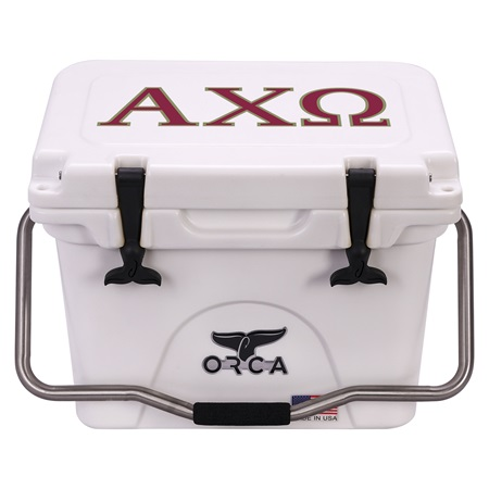 Alpha Chi Omega White 20 Quart