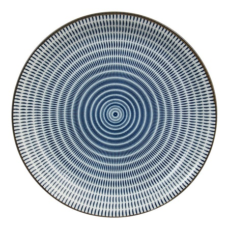 "Sen Colors 9.75"" Plate - Navy"