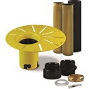 DRAIN KIT: DROP-IN INSTALLATION FOR BATH - ABS
