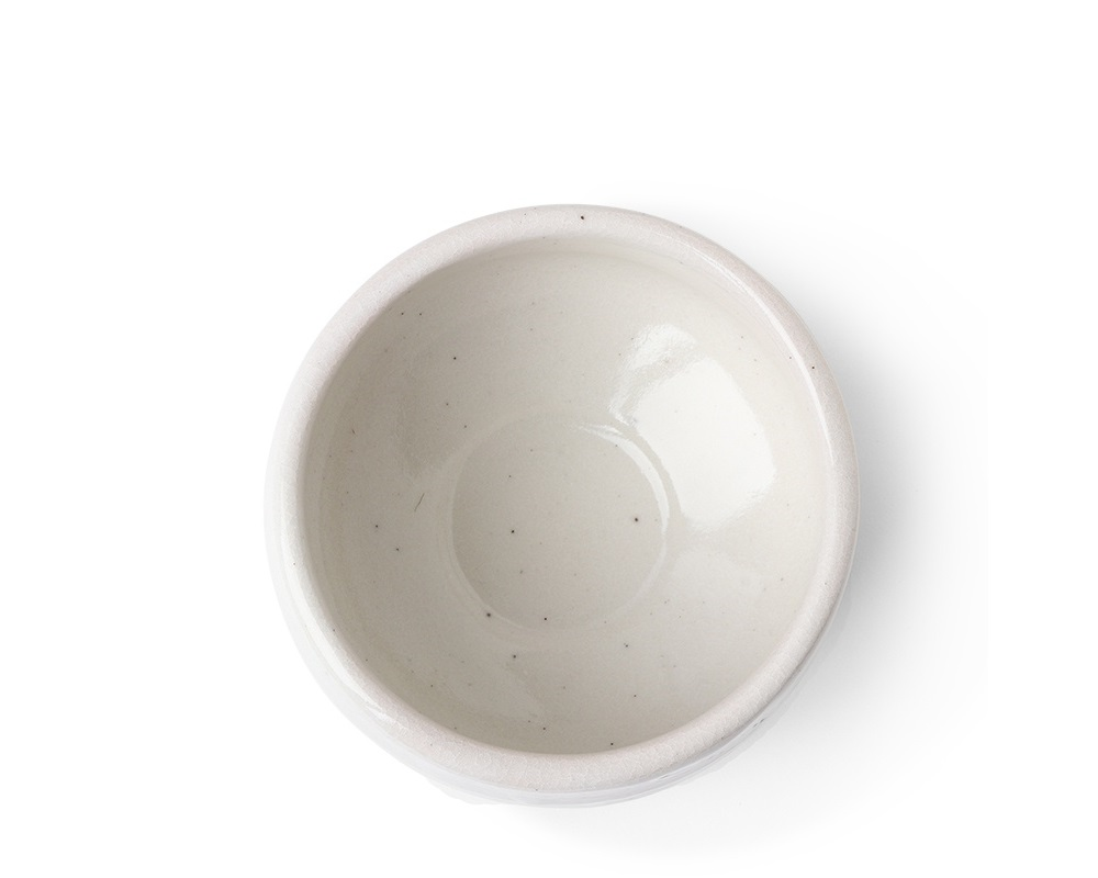 "Matcha Bowl 4.5"" Shiro White"