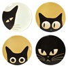 "CAT EYES 3.5"" MINI PLATE SET OF FOUR"