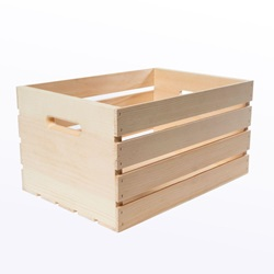 Large Wood Crates