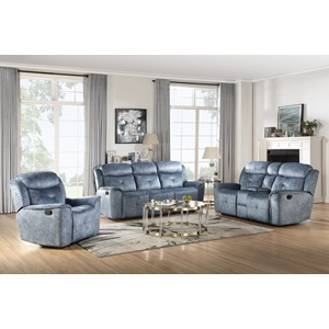 55036 Mariana Motion Loveseat with Console