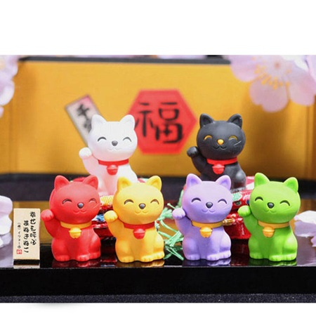 Iwako Fortune Cat Erasers