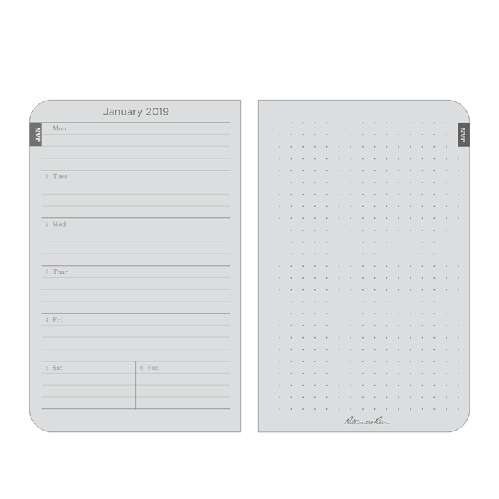 Pocket Calendar.2019 Pocket Calendar