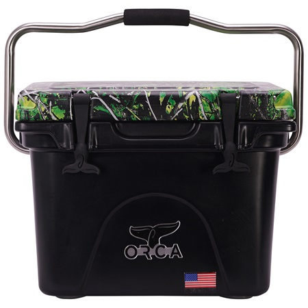 Moonshine Toxic Camo Lid Black 20 Quart