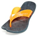 Zendals Resort Thong Spa Sandal, Orange-Small