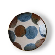"Rustic Dots 5.5"" Plate"