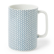 MUG AJIRO BLUE & WHITE