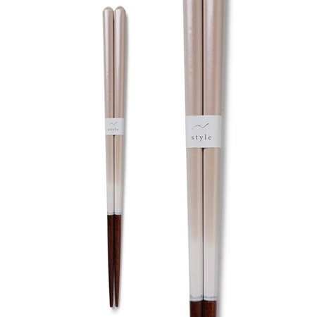 Chopsticks Ombre White