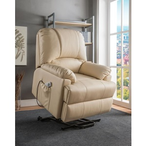 59286 BEIGE REC W/P. LIFT & MASSAGE