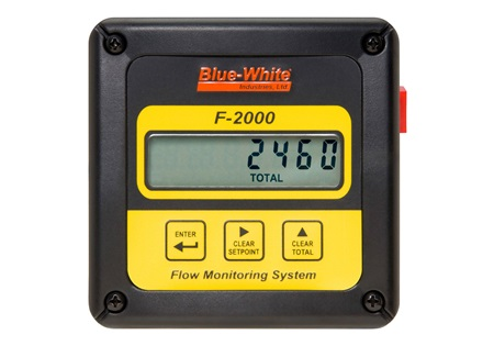 Blue-White F-2000 Flowmeter | Digital Paddlewheel