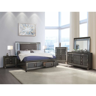 27967EK Sawyer Eastern King Bed