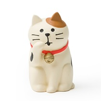 Figurine White Cat