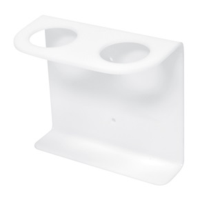16oz Natural Boston Rd Dispenser Brackets, White