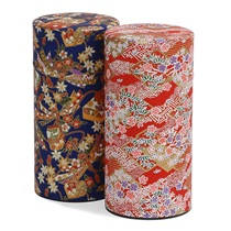 Washi Paper Tea Canister