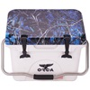 Moonshine Undertow Camo Lid White 20 Quart