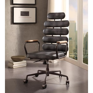 92107 BLACK EXECUTIVE OFFICE CHAIR