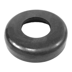 Leaf spring eye seal