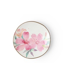Floral Mini Plate Pink
