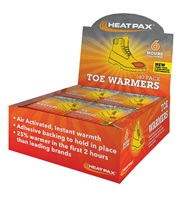 Heat Pax® Toe Warmers 40-Pack Display