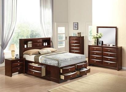 Acme Furniture 21596ek Kit Ireland Esp Eastern King Bed