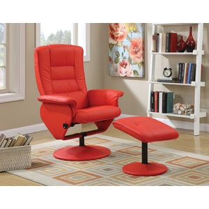 59364 CHAIR WITH OTTOMAN