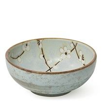"Spring Blossoms 4.25"" Shallow Bowl"