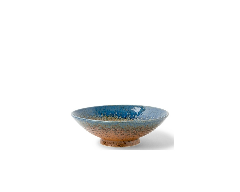 "Aoi Nagashi 9.5"" Serving Bowl"