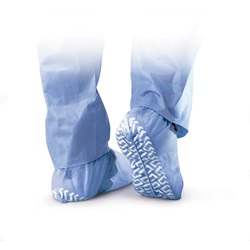 blue Non-Skid Shoe Covers