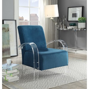 59585 TEAL ACCENT CHAIR
