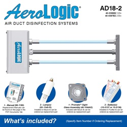 AeroLogic Model AD18-2 Included Accessories