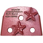 Double Star Soft Bond 30/40 Grinder Tooling Compatible with: Virginia Abrasives, EDCO® & Lavina®