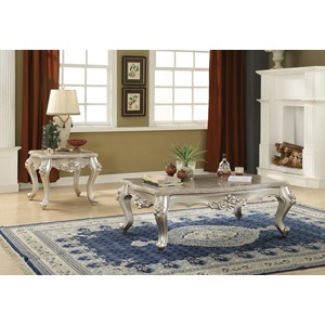 81665 COFFEE TABLE W/MARBLE TOP