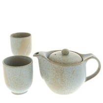Tea Set Grey Stone