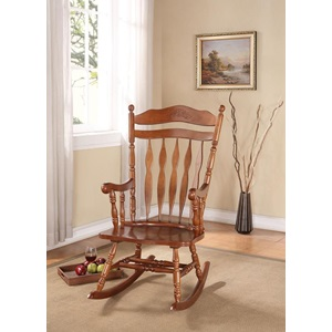 59209 DARK WALNUT ROCKING CHAIR