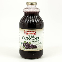 Grape Juice, Concord (Lakewood), Organic - 32oz